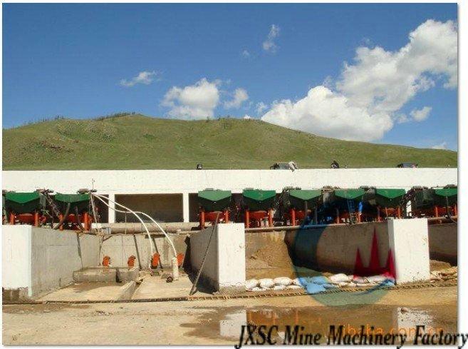 20 TPH Alluvial cassiterite processing plant -1
