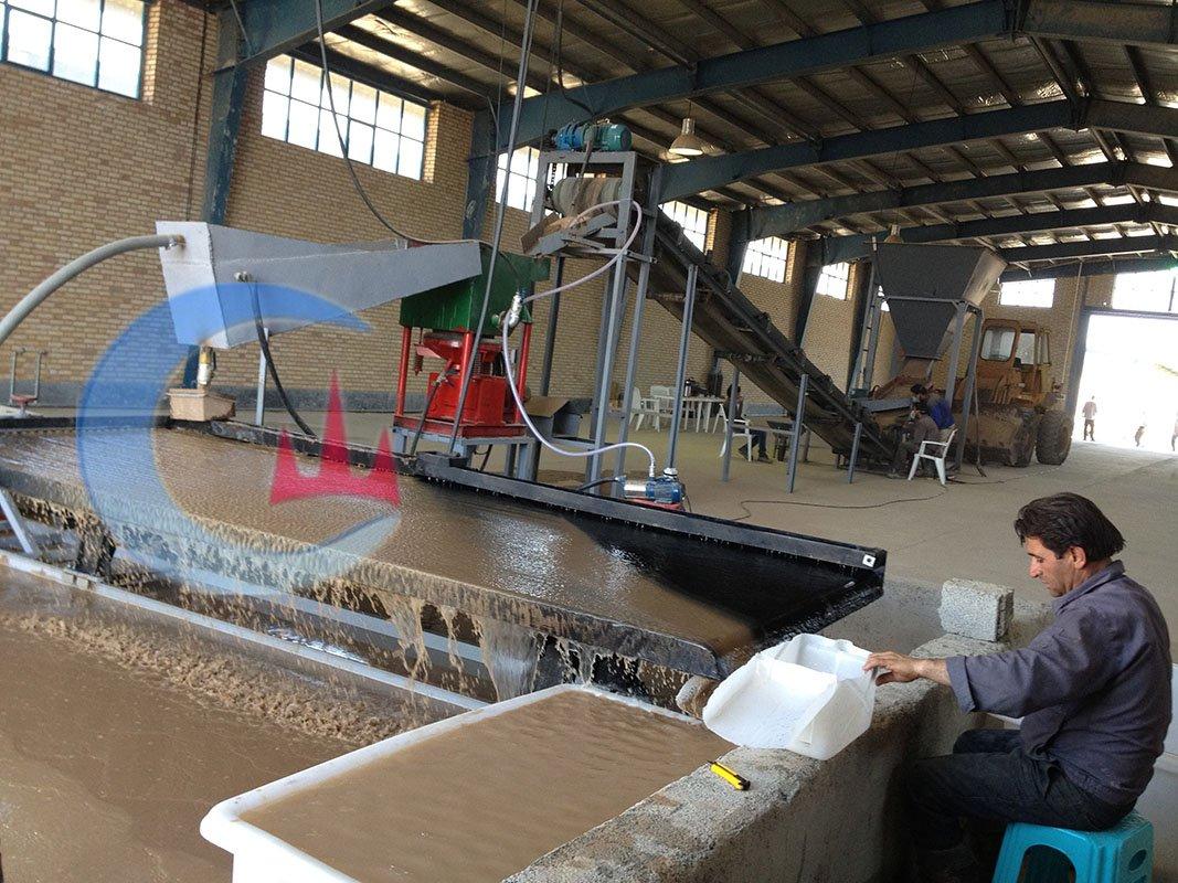 20 TPH Alluvial cassiterite processing plant -3