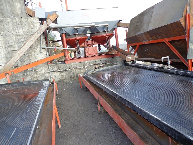 20 TPH Alluvial cassiterite processing plant -6