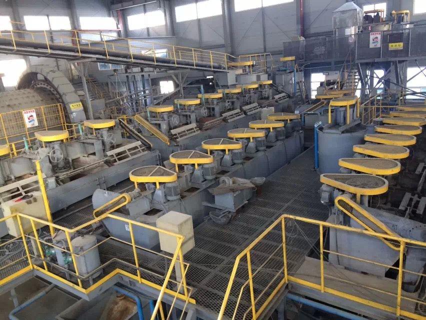 80 TPH Wolfram beneficiation plant in Korea 03