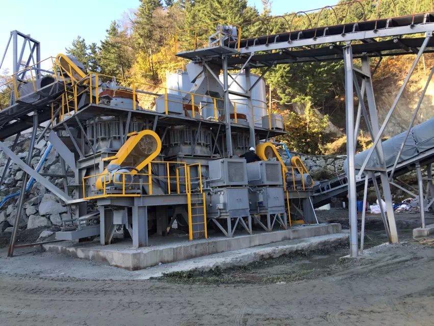 80 TPH Wolfram beneficiation plant in Korea 06