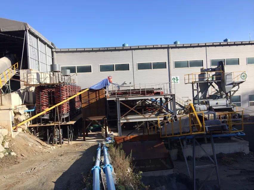 80 TPH Wolfram beneficiation plant in Korea 09