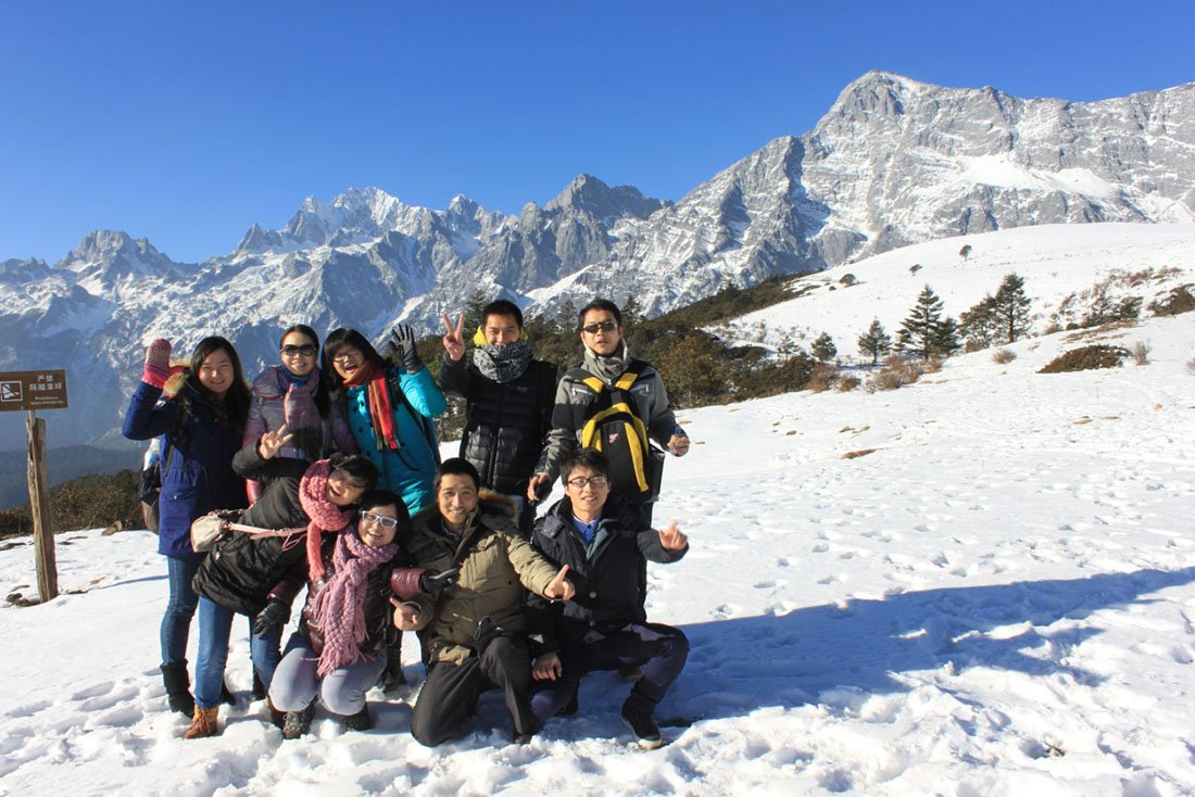sales team travel abroad