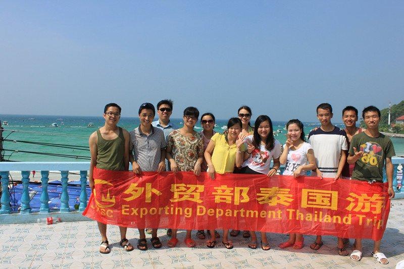 sales team travel to Thailand