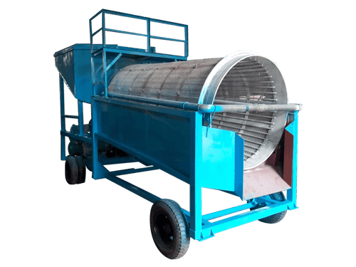 mobile wash plant