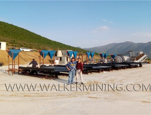 5-15 ton per hour Rock Chrome Processing Plant in Albania