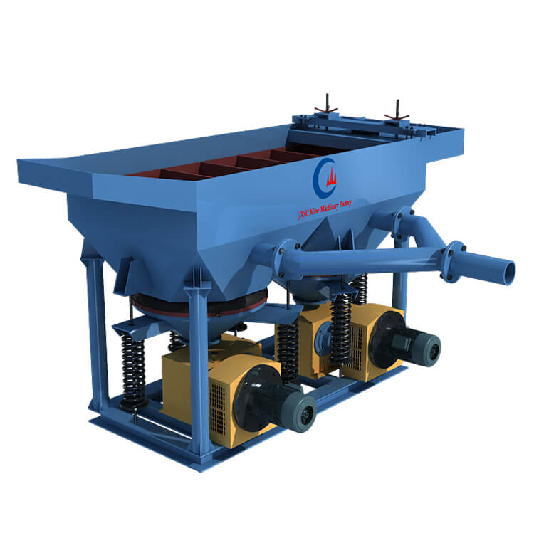 Jig concentrator with two motor