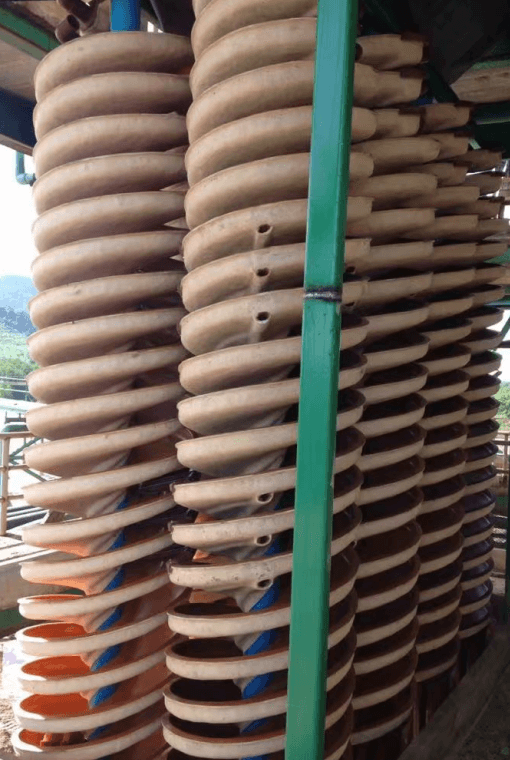 spiral chute