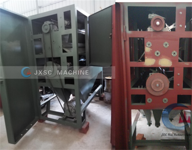 Double or 2 Roller Electrostatic Separator