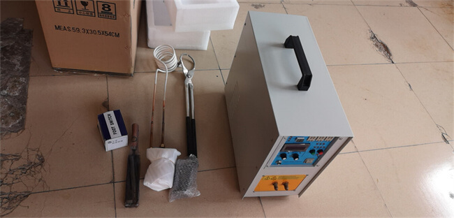 portable melting furnace