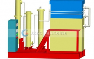 Normal Temperature Normal Pressure type Desorption electrolysis system feature picture