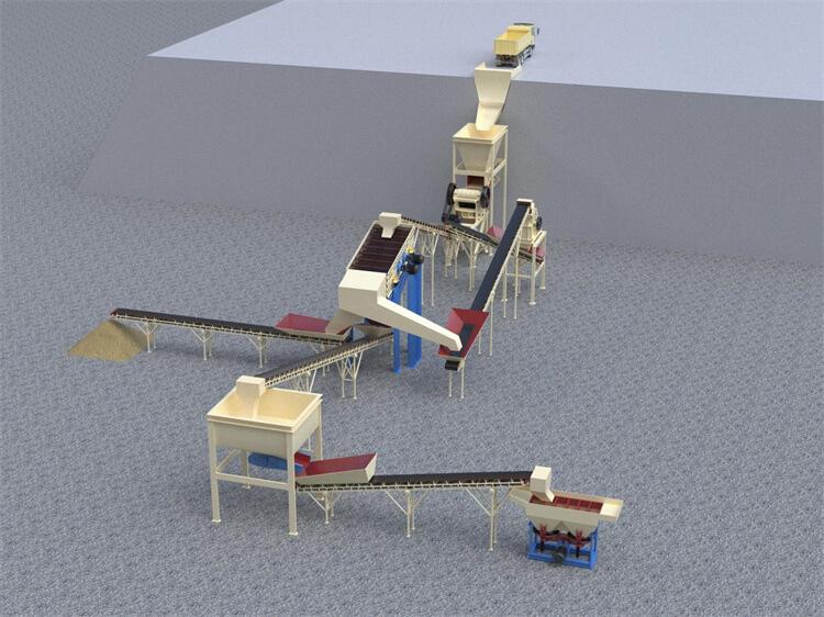 final manganese mining process