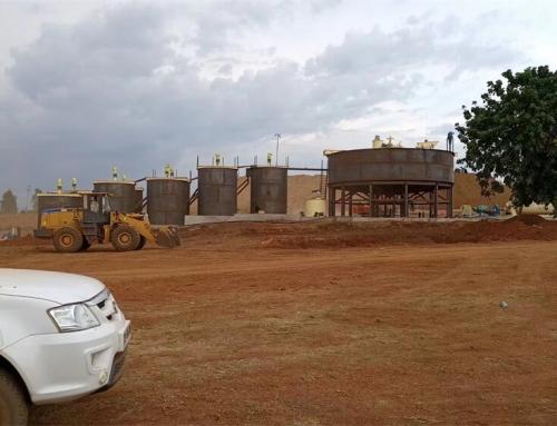 CIP gold processing plant